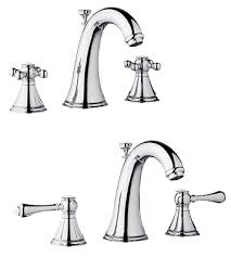 grohe bathtub faucets grohe 20 801 000 geneva lavatory widespread faucet chrome