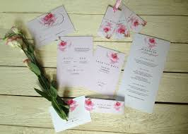 wedding stationery by mellor u0026rose personalised u0026 hand lettered