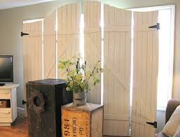 Canvas Room Divider Attractive Vintage Room Divider 6 Ft Tall Double Sided Vintage