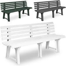plastic garden bench ebay
