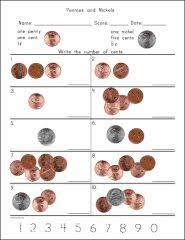 math money worksheets counting quarters dimes nickels and pennies