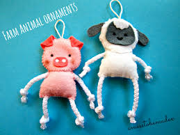 100 animal ornaments how to make woodland animal ornaments
