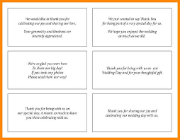 Words For Wedding Thank You Cards 7 Wedding Thank You Cards Wording Nurse Resumed