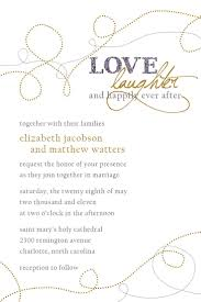 wedding invitations format words for wedding invitation cards pacq co