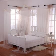 Mosquito Curtains Coupon Code by Casablanca Palace 4 Post Bed Sheer Panel Canopy