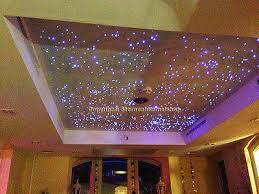 led wohnzimmer led sternenhimmel 200 lichtfaser sauna bad wellness schlafzimmer
