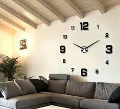 wholesale 2016 new and fashion 3d wall clock mirror sticker majic see larger image