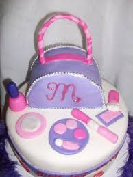 how to make a cake for a girl aimee s cakes girl purse and make up cake