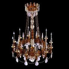 antique chandelier big antique classic chandelier in brass finish 3d model max obj