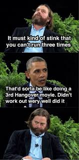 Meme With Two Pictures - obama on between two ferns meme weknowmemes