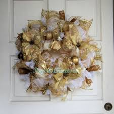 white deco mesh best white deco mesh wreaths products on wanelo