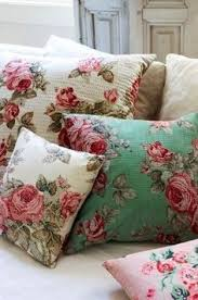 Cushions Shabby Chic by Vintage Fabric Cushion See This Is Why I Never Throw Any Scraps