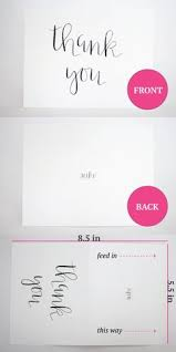 freebie printable thank you card envelopes cards and freebies