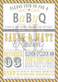 co ed baby showers coed baby shower invitations bbq we like design