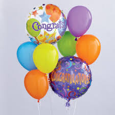 balloon boquet delivery dellart floral congratulations balloon bouquet pocatello id