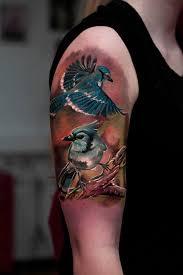 3d tree tattoos