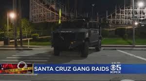 Map Of Seattle Gangs And by Agents Bust Violent Street Gang In Santa Cruz Cbs San Francisco