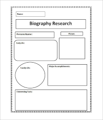 sle biography template for students biography sle juice plus pinterest sle resume and