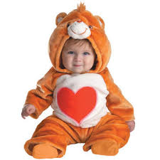 6 Month Halloween Costume Toddler Care Bear Tenderheart Halloween Costume Size 6 12 Months