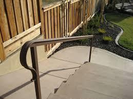 exterior wrought iron stair railings aviblock com