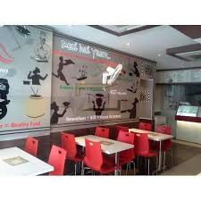 Modern Cafe Interiors In Delhi Kirti Nagar By Design Hut Delhi - Modern cafe interior design