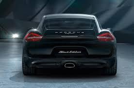 porsche cayman black edition 2016 porsche cayman black edition shows stealth motor