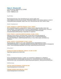 Ats Resume Template Free Ats Applicant Tracking System Optimized Resume Templates
