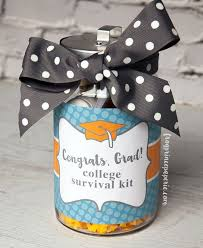 gifts for school graduates college survival kit diy graduation gift frog prince paperie