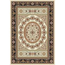Turkish Area Rugs Istanbul Collection Black Turkish Area Rug 2 6 X 7 2
