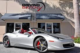 458 Spider Interior Ferrari 458 Spider For Sale Hemmings Motor News