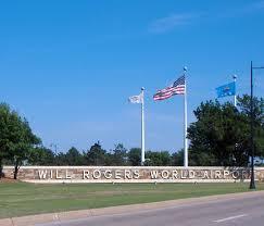 Flag Of Oklahoma Will Rogers World Airport In Oklahoma City