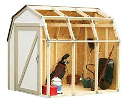 shed style roof amazon com 90190 2x4basics shed kit barn style roof