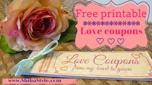 love coupon free printable diy goft for your boyfriend or
