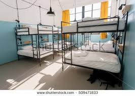 Dormitory Bunk Beds Dormitory Room Bunk Beds New Hostel Stock Photo 564055705