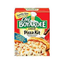 chef pizza chef boyardee cheese pizza maker pizza kit 31 85 oz target