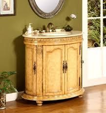 Ontario Bathroom Vanities by Legion 32 Inch Vintage Single Bathroom Vanity In Brown Finish