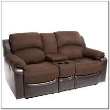 Reclining Leather Sofa Reclining Leather Sofa With Cup Holders Sofa Home Design Ideas