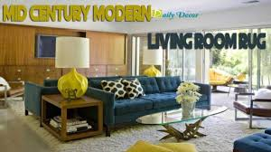 Mid Century Modern Living Room Rug Galleria Interior Designs - Interior design mid century modern