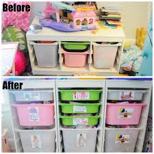 Bedroom Storage Ideas For Small Spaces Diy Toy Box Labels Small Space Toy Storage Solution Hometalk