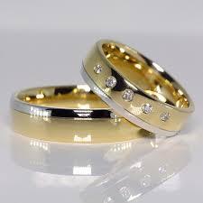 verighete de aur din aur cu diamante v075