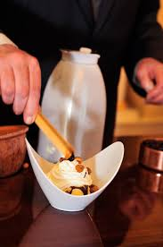 liquid nitrogen ice cream sundae recipe chef jesse mallgren of