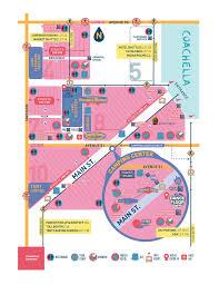 Lollapalooza Map Http Www Coachella Com Visiting The Festival Festival Maps