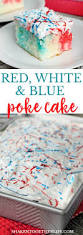 Halloween Poke Cake by Red White U0026 Blue Poke Cake Shaken Together