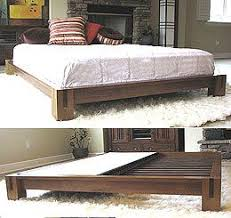 Make Wood Platform Bed by Best 25 King Platform Bed Ideas On Pinterest Diy Bed Frame Bed