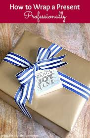 How To Wrap Gifts - how to wrap a present professionally step by step hello