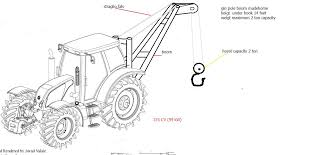 help construction frame pole tractor homemadetools net