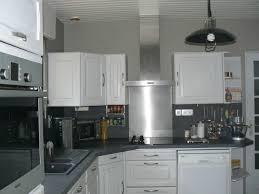 peinture grise cuisine deco cuisine gris peinture brillant deco pour cuisine grise idées