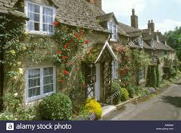 The Cotswolds Cottages by Cotswold Cottages In Vineyard Street Winchcombe Cotswolds Stock