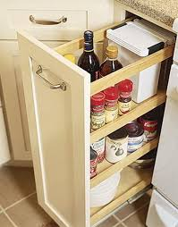 Kitchen Cabinet Slide Out Organizers 67 Cool Pull Out Kitchen Drawers And Shelves Shelterness
