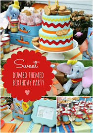 Circus Birthday Decorations Dumbo Themed 3rd Birthday Party Boy Birthday Birthdays And